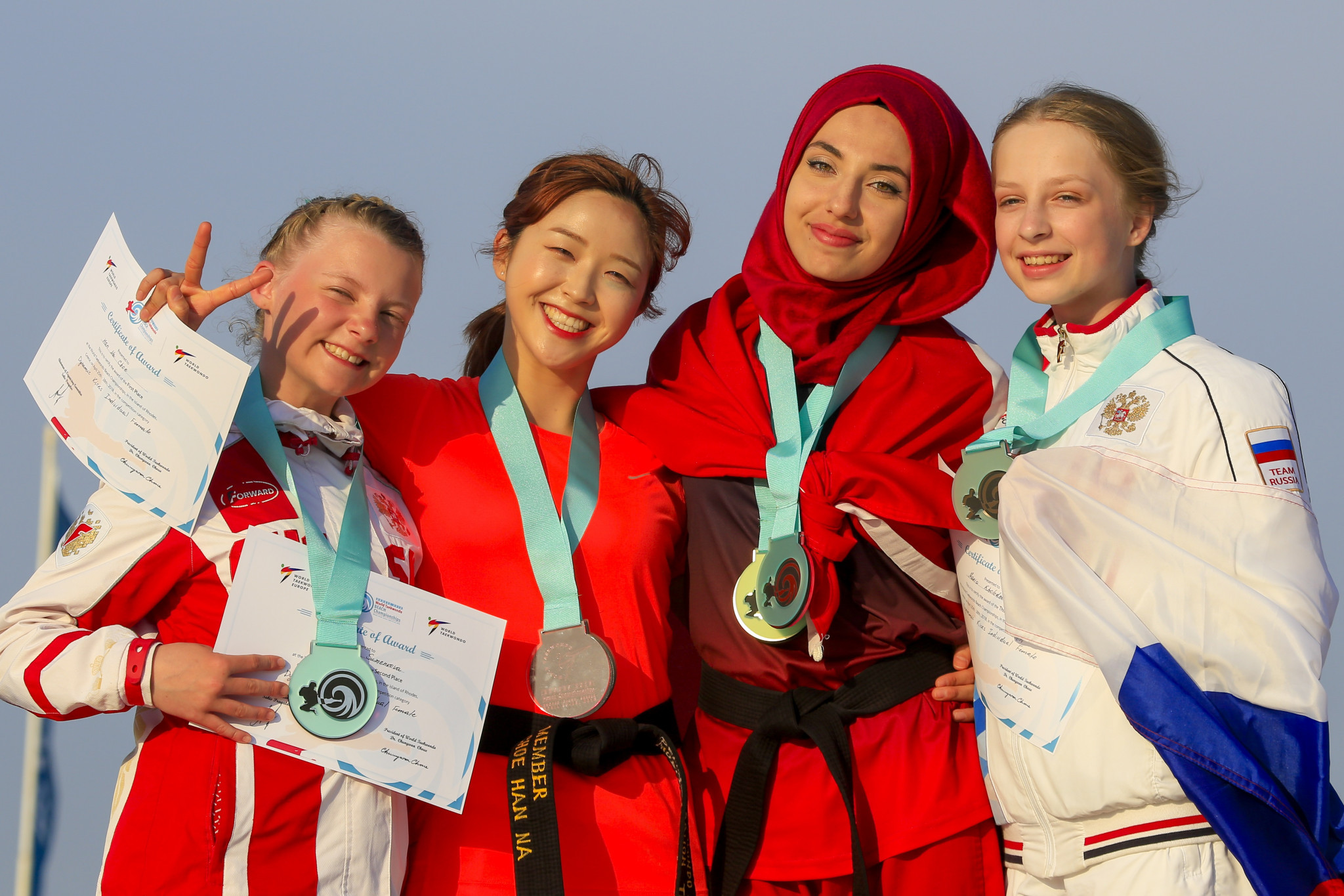 Action concluded today at the World Taekwondo Beach Championships in Rhodes ©World Taekwondo