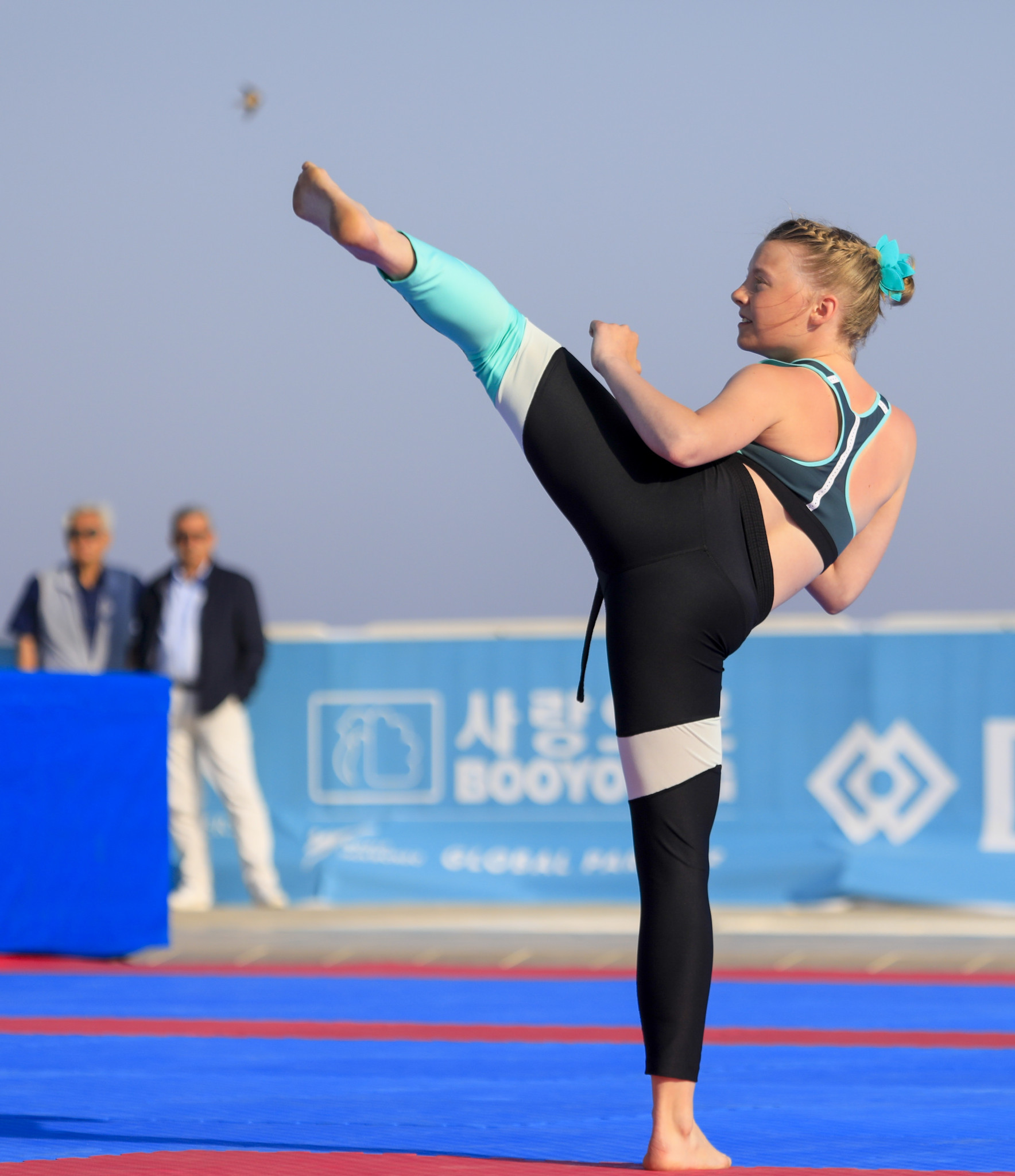 Russia's Anastasia Sumenkova claimed the silver medal in the women's individual dynamic kicks event in Rhodes ©World Taekwondo