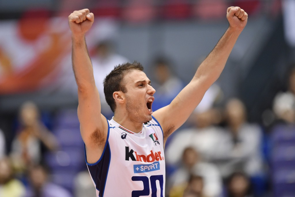 Italy recover from shaky start to record third victory at FIVB Men's World Cup