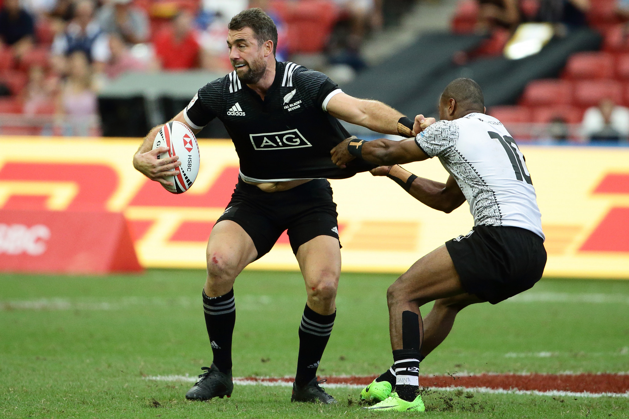 New Zealand will hope to defend their men's title at the Rugby World Cup Sevens in San Francisco ©Getty Images