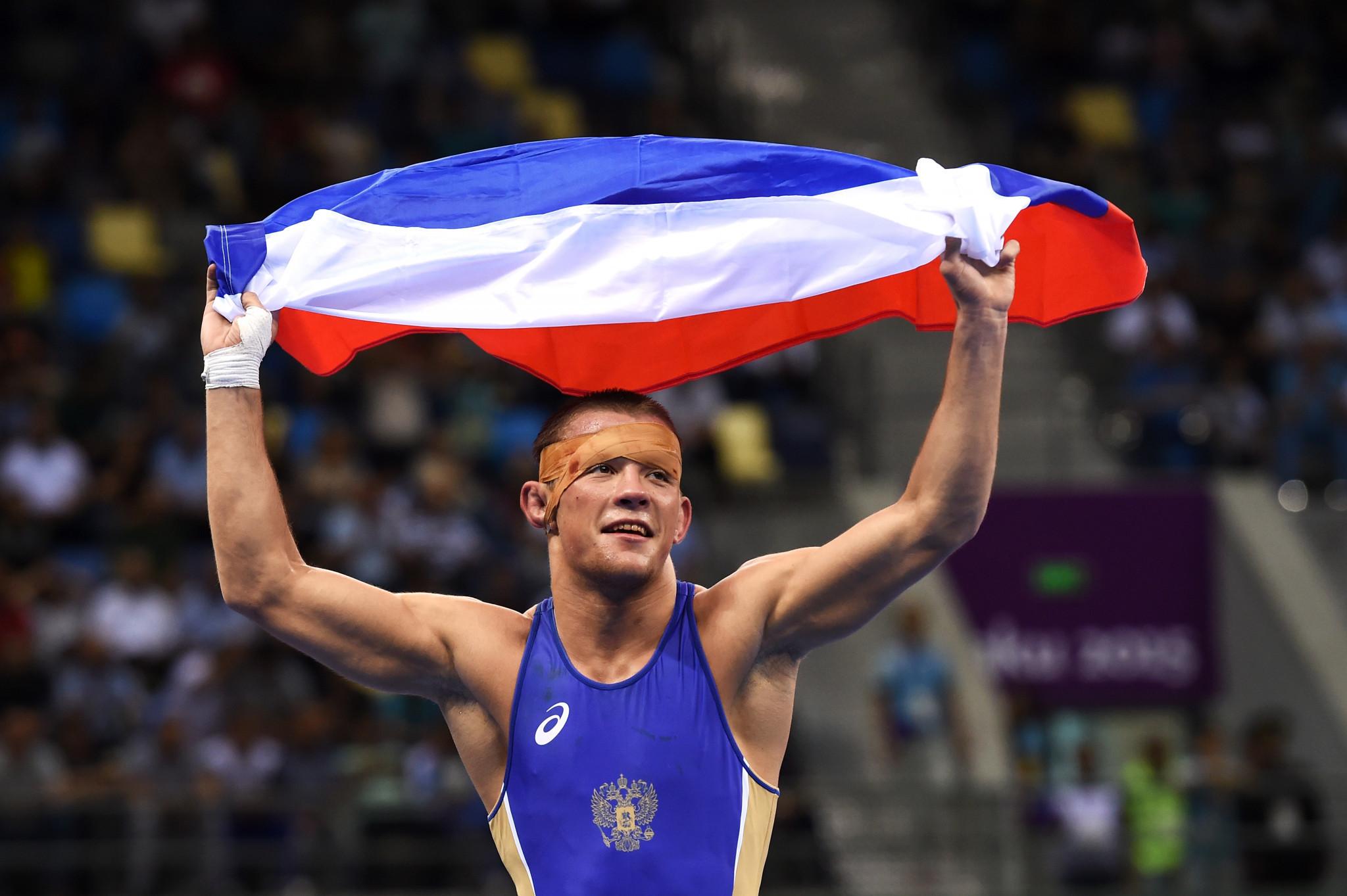 Hosts Russia dominate day three of European Wrestling Championships in Kaspiysk