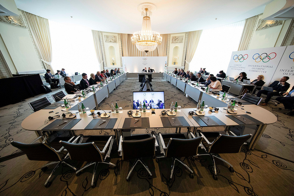The IOC made their decision to appeal CAS during an Executive Board meeting ©IOC/Flickr