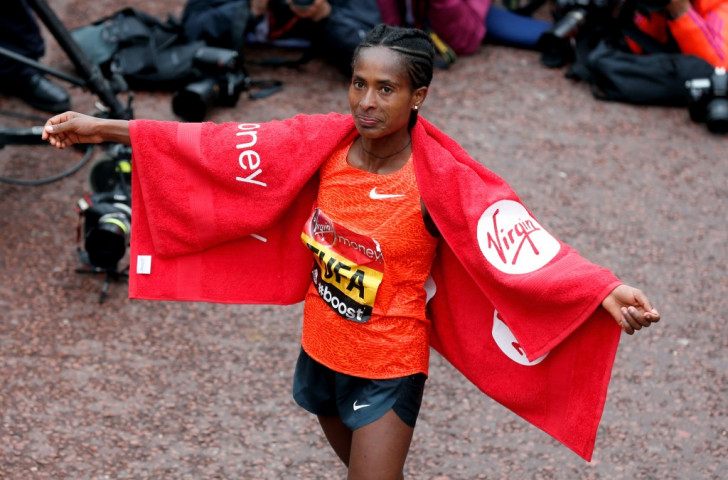 Ethiopian Tigist Tufa secured a shock victory to become the first female winner from her nation since 2001