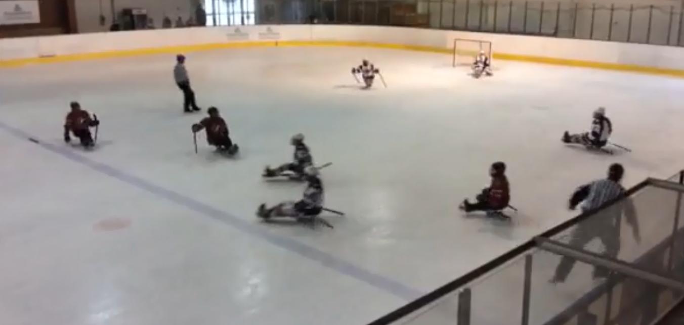 United States beat Canada today ©Facebook/Women's Para Ice Hockey