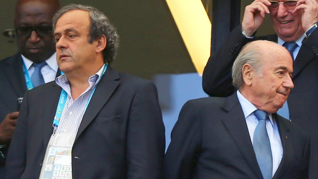 It is thought new evidence may soon emerge further implicating both Sepp Blatter (right) and Michel Platini ©Getty Images