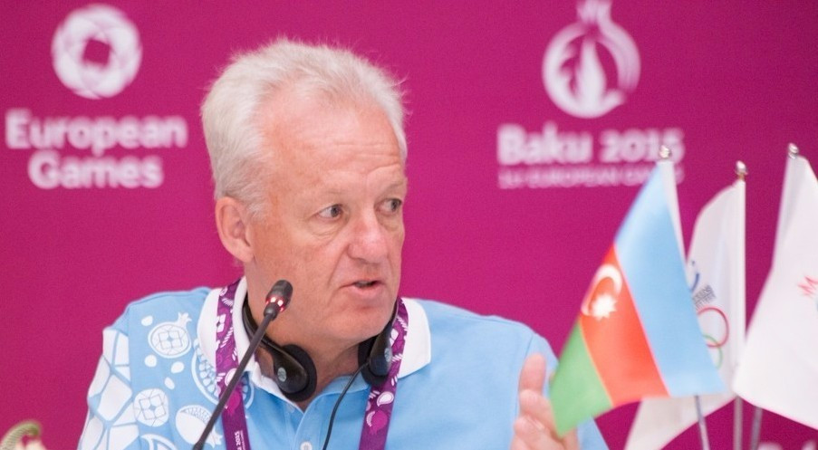 Simon Clegg served as the chief operating officer for the Baku 2015 European Games ©Baku 2015