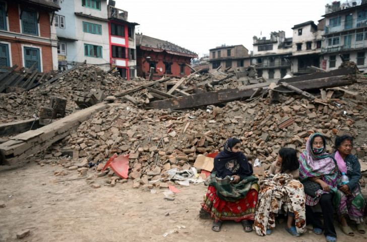 Areas of Nepal have been devastated by the magnitude 7.8 earthquake