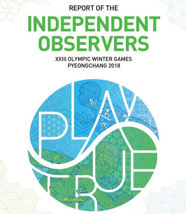 WADA has published the Independent Observers report from Pyeongchang 2018 ©WADA
