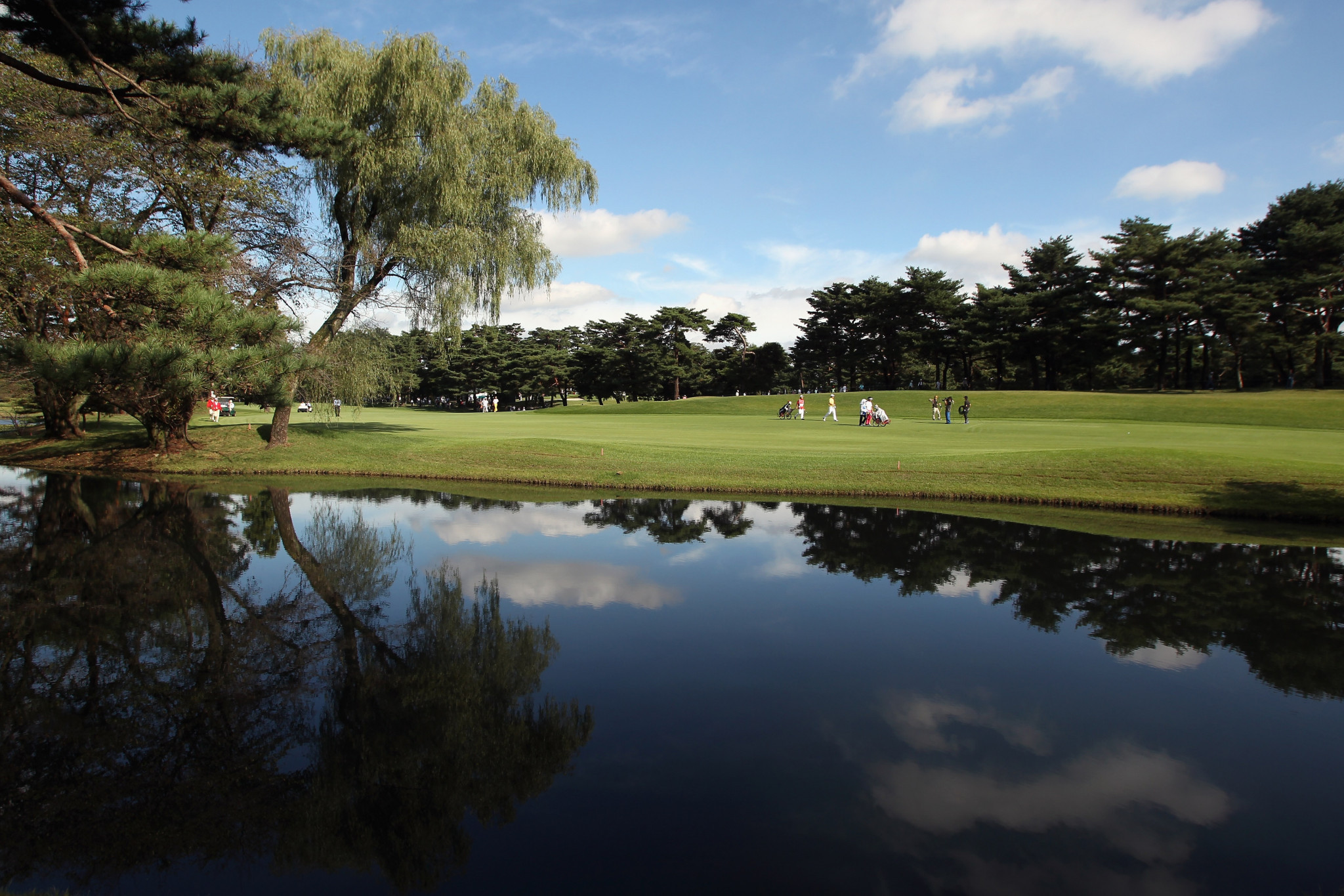 The Kasumigaseki Country Club has upgraded the status of three women ©Getty Images