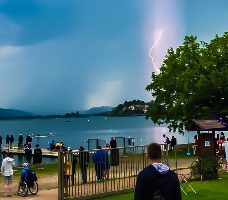 Polianskyi among heat winners before thunderstorm stops play at Para Rowing International Regatta