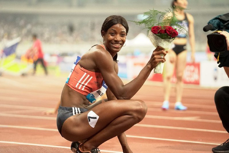 Shaunae Miller-Uibo could drop the 400m for Tokyo 2020 ©Getty Images