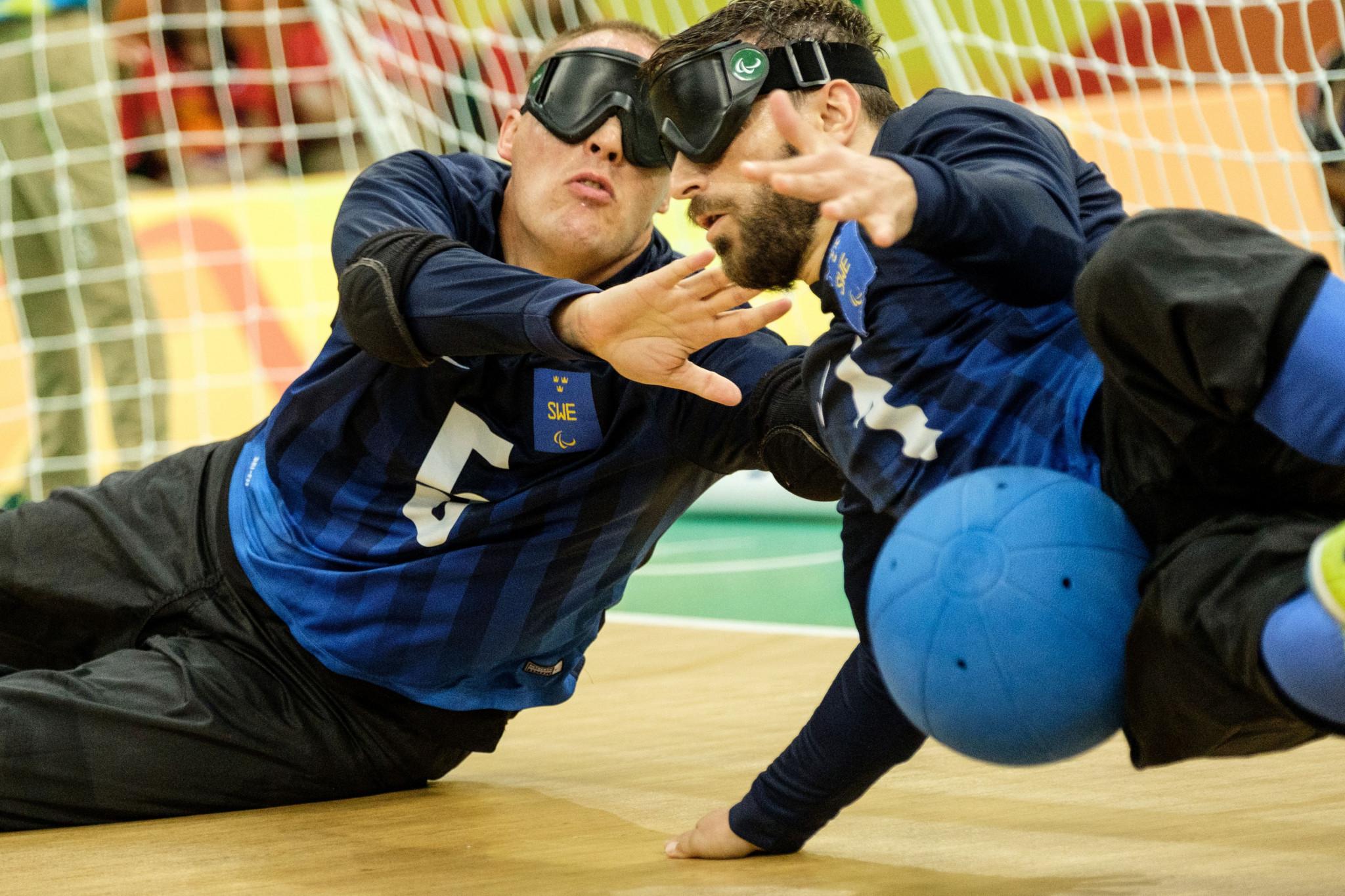 Hosts Sweden pick men's squad for home Goalball World Championship