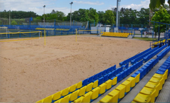 The Olympic Sport Complex will stage archery and beach soccer at Minsk 2019 ©Minsk 2019