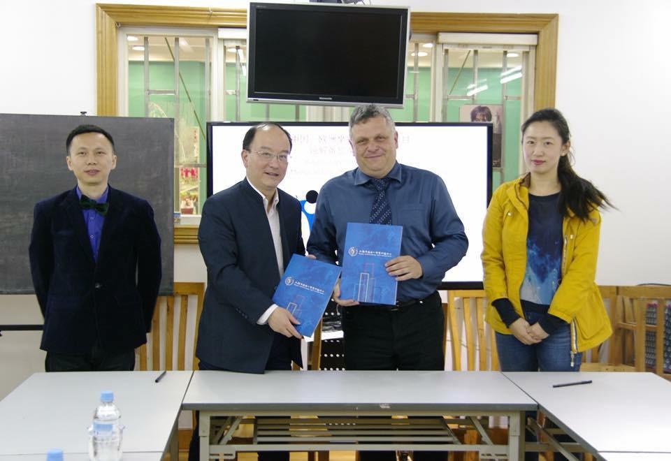 ParaVolley Europe sign Memorandum of Understanding with Chinese training base