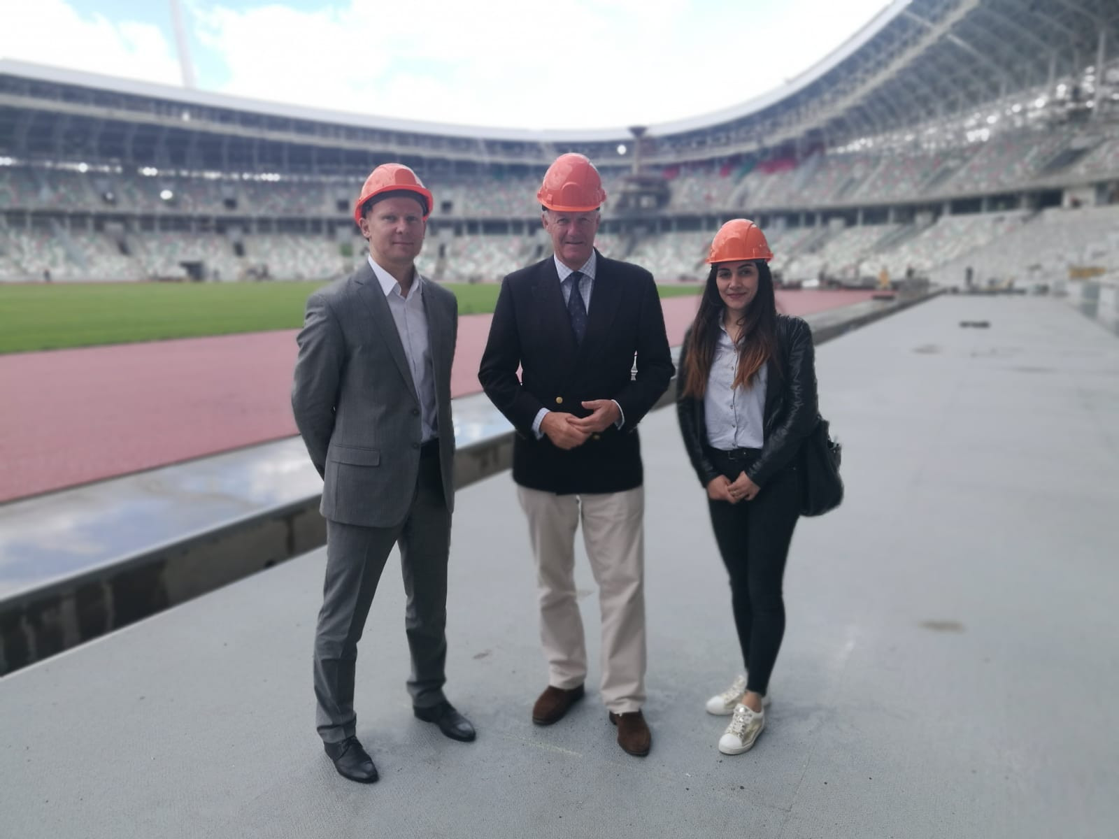 Executive director Clegg concludes first official visit to Minsk prior to 2019 European Games