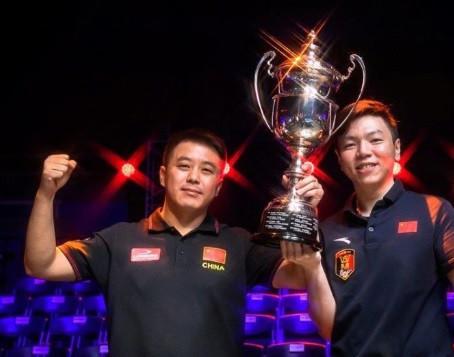 China A thrash Austria to claim World Cup of Pool title