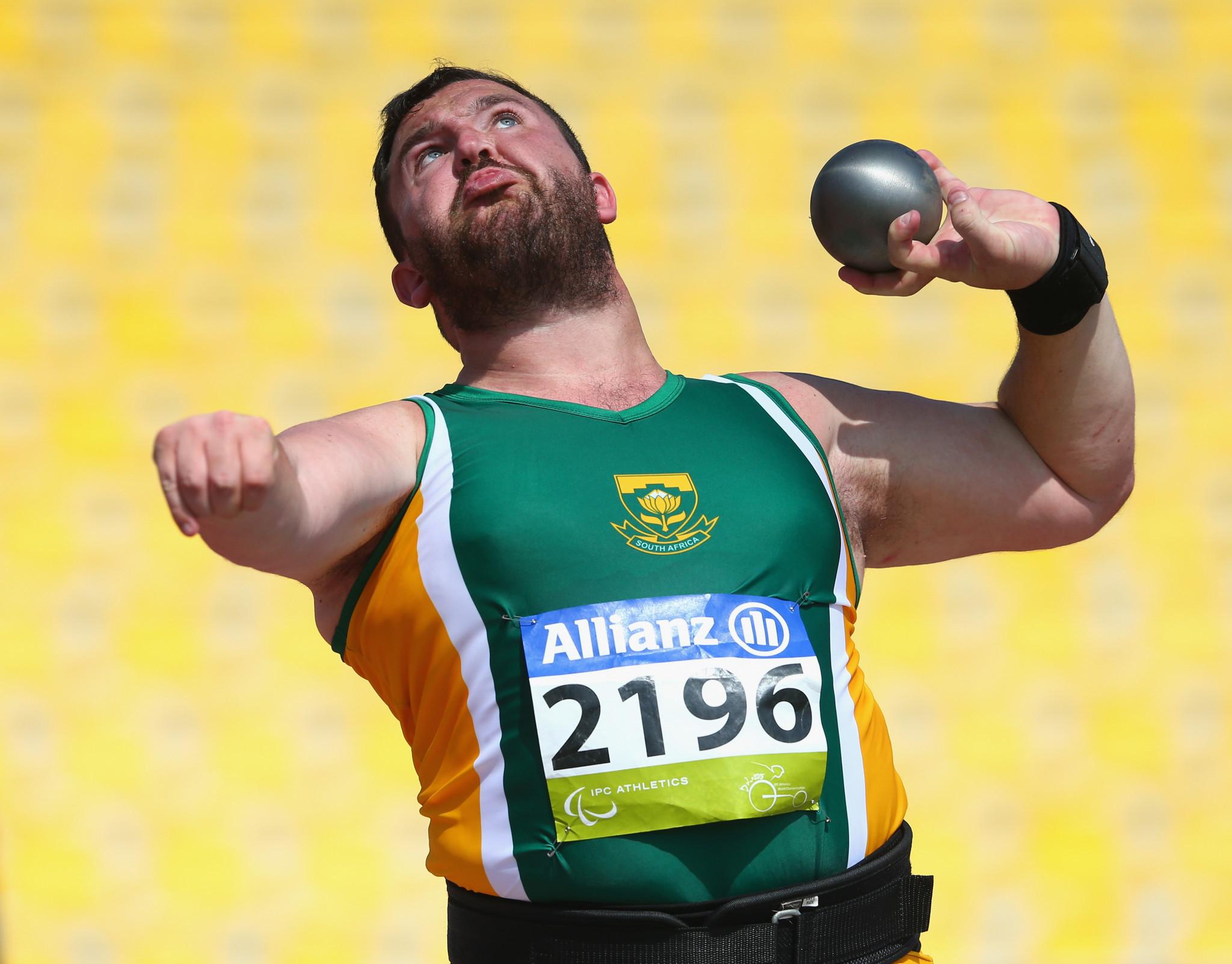 Paralympic champion Hamman emerges triumphant at Para Athletics Grand Prix