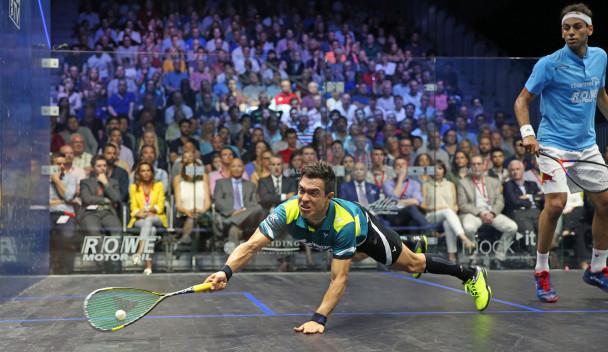 Rodriguez shocks favourite Elshorbagy to claim PSA British Open title