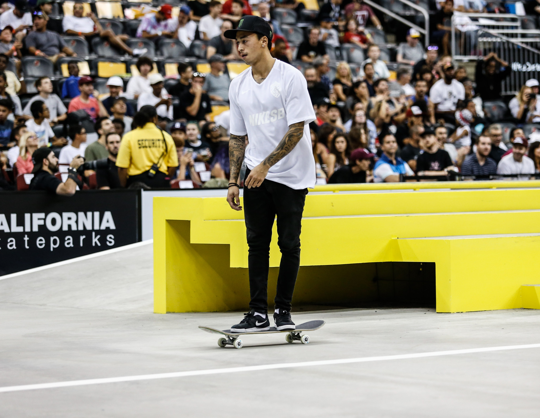 """World champion Huston claims skateboarding's Olympic debut at Tokyo 2020 has been a """"long time coming"""""""
