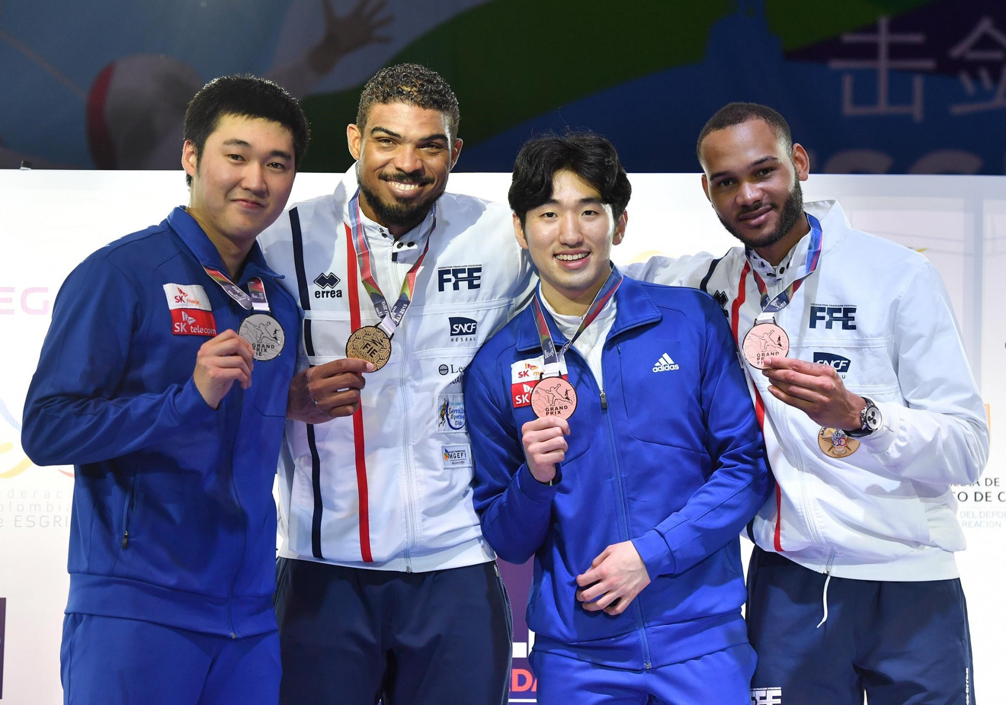 France's Borel claims second FIE Épée Grand Prix title with victory in Cali