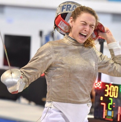 Brunet shocks favourite Kharlan to clinch gold at FIE Sabre World Cup