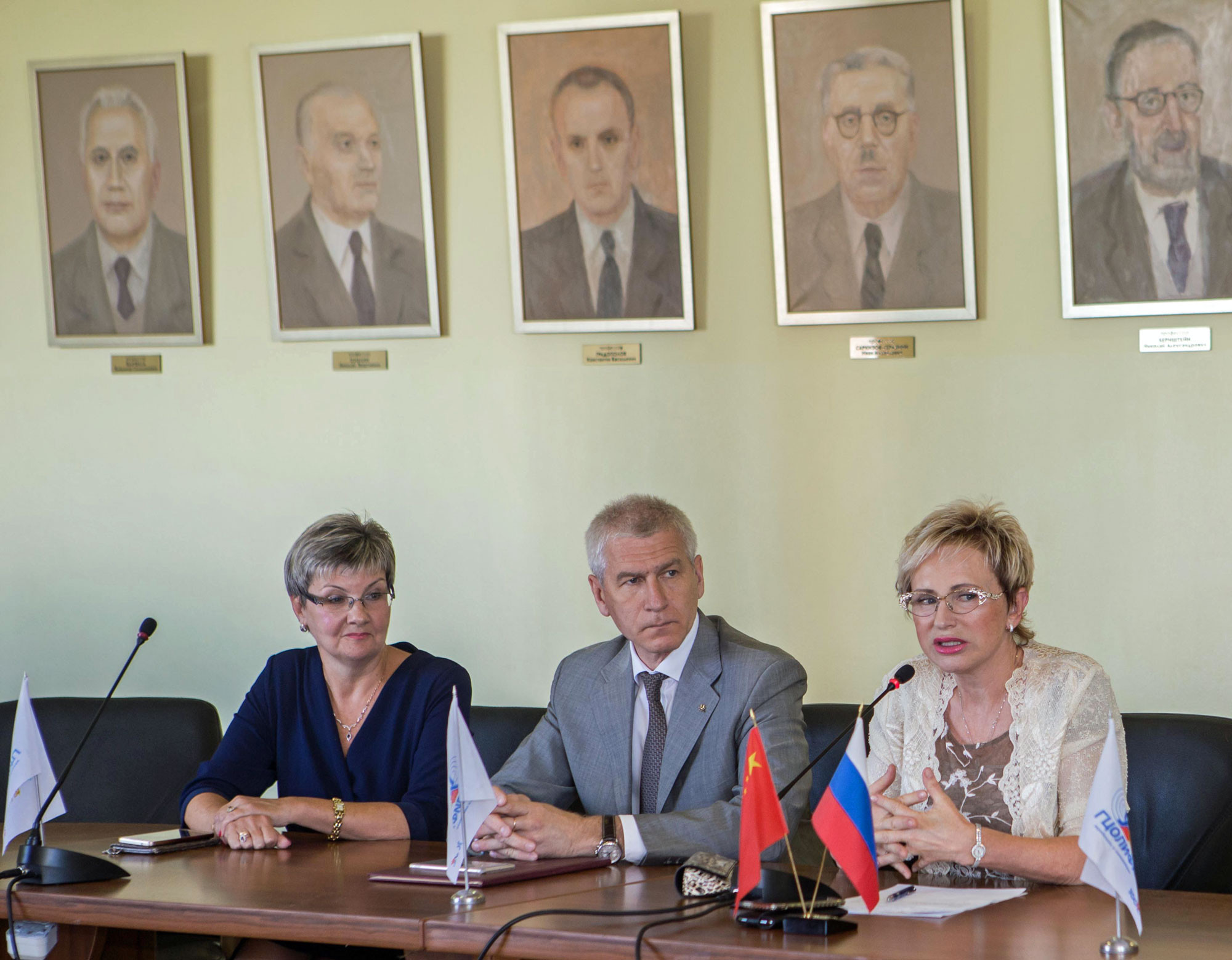 FISU President speaks at Alma Mater in Moscow