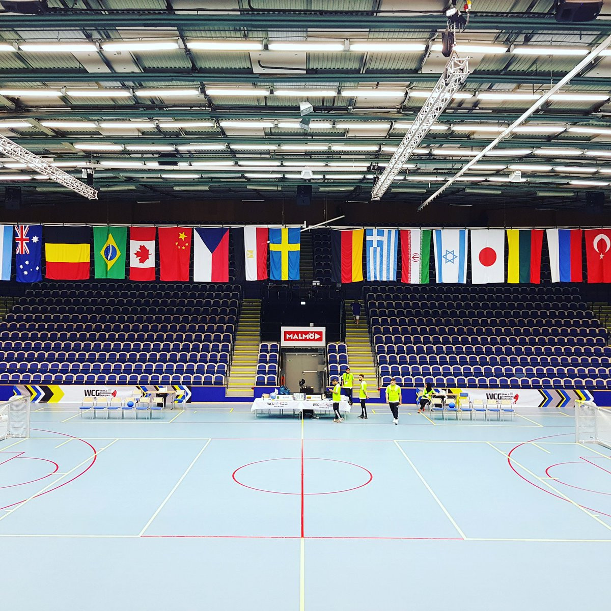 Defending champions Brazil thrash United States in first match of 2018 IBSA Goalball World Championships