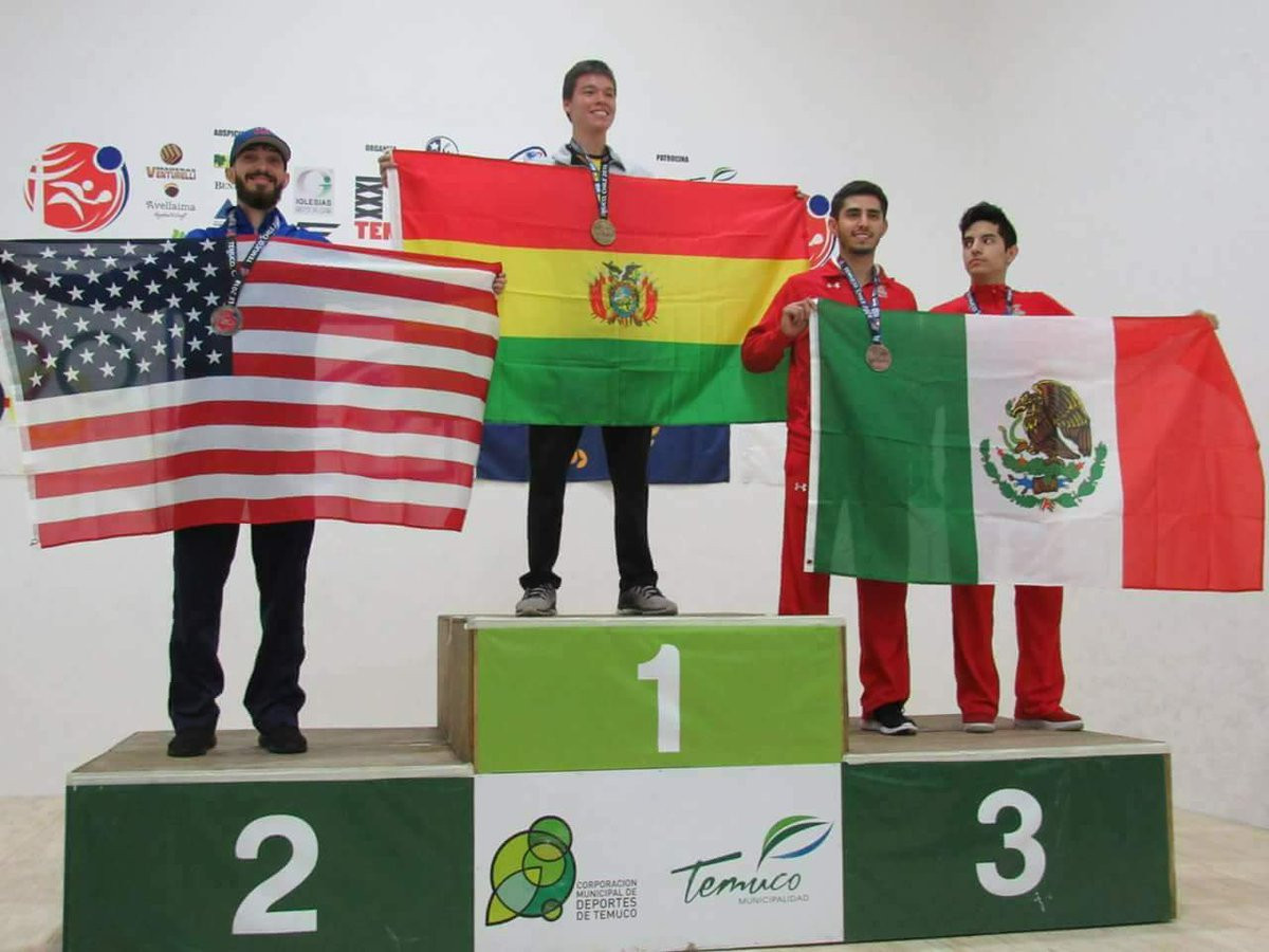 Hosts Bolivia claim racquetball title at South American Games