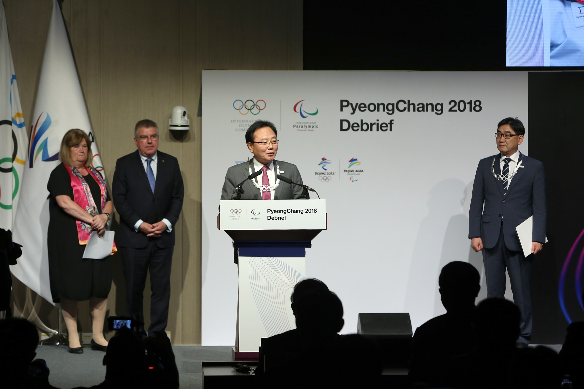 Two leading Pyeongchang 2018 officials awarded Olympic Order