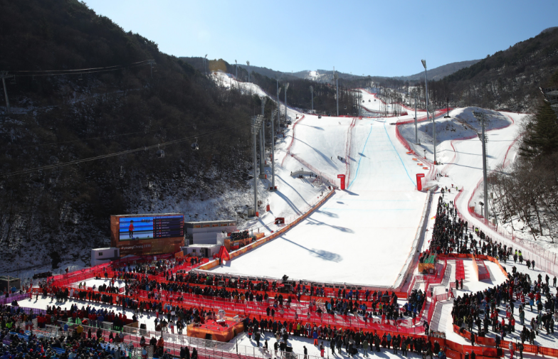 The Jeongseon Alpine Centre is one of three Pyeongchang 2018 venues where legacy plans still have to be confirmed, although the IOC claim they expect them to be announced shortly ©Getty Images