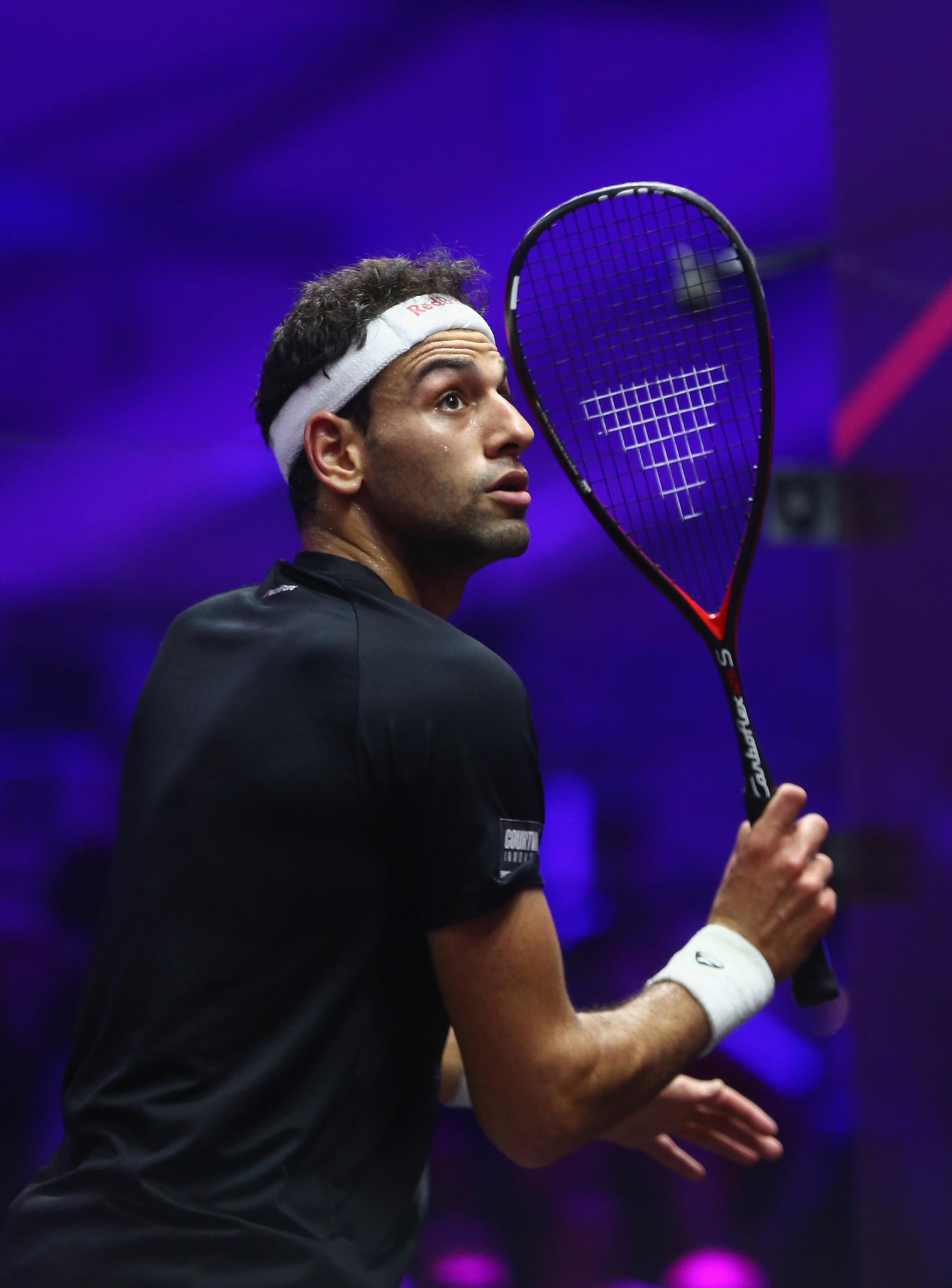 Mohamed Elshorbagy is the reigning men's PSA World Series Finals champion ©Getty Images