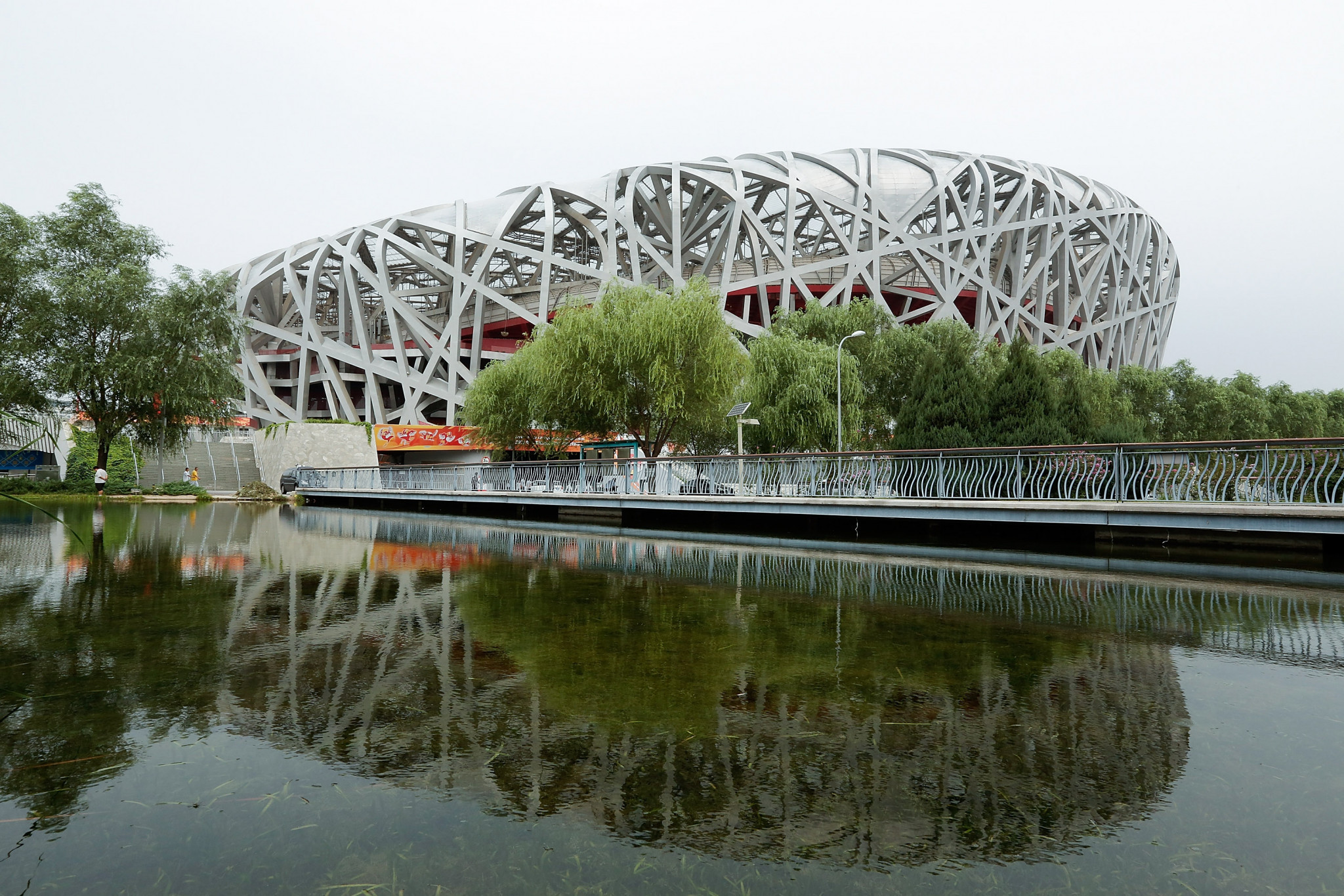 The iconic Bird's Nest Stadium will be used for the Beijing 2022 Opening and Closing Ceremonies ©Getty Images