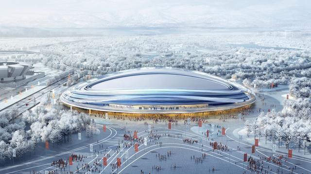 ISU officials visit construction site for Beijing 2022 speed skating venue