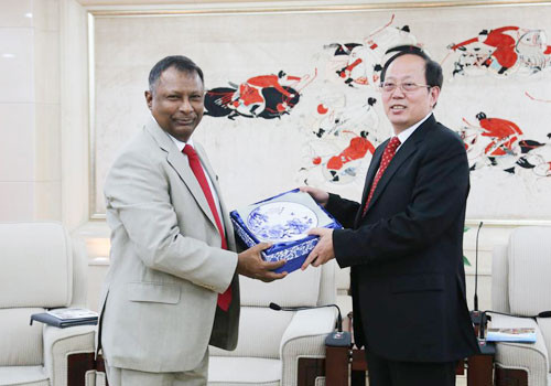 National Olympic Committee of Sri Lanka get Chinese support for South Asian Games