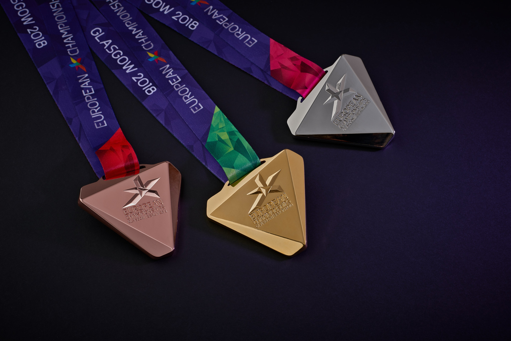 Medal design revealed for Glasgow and Berlin European Championships
