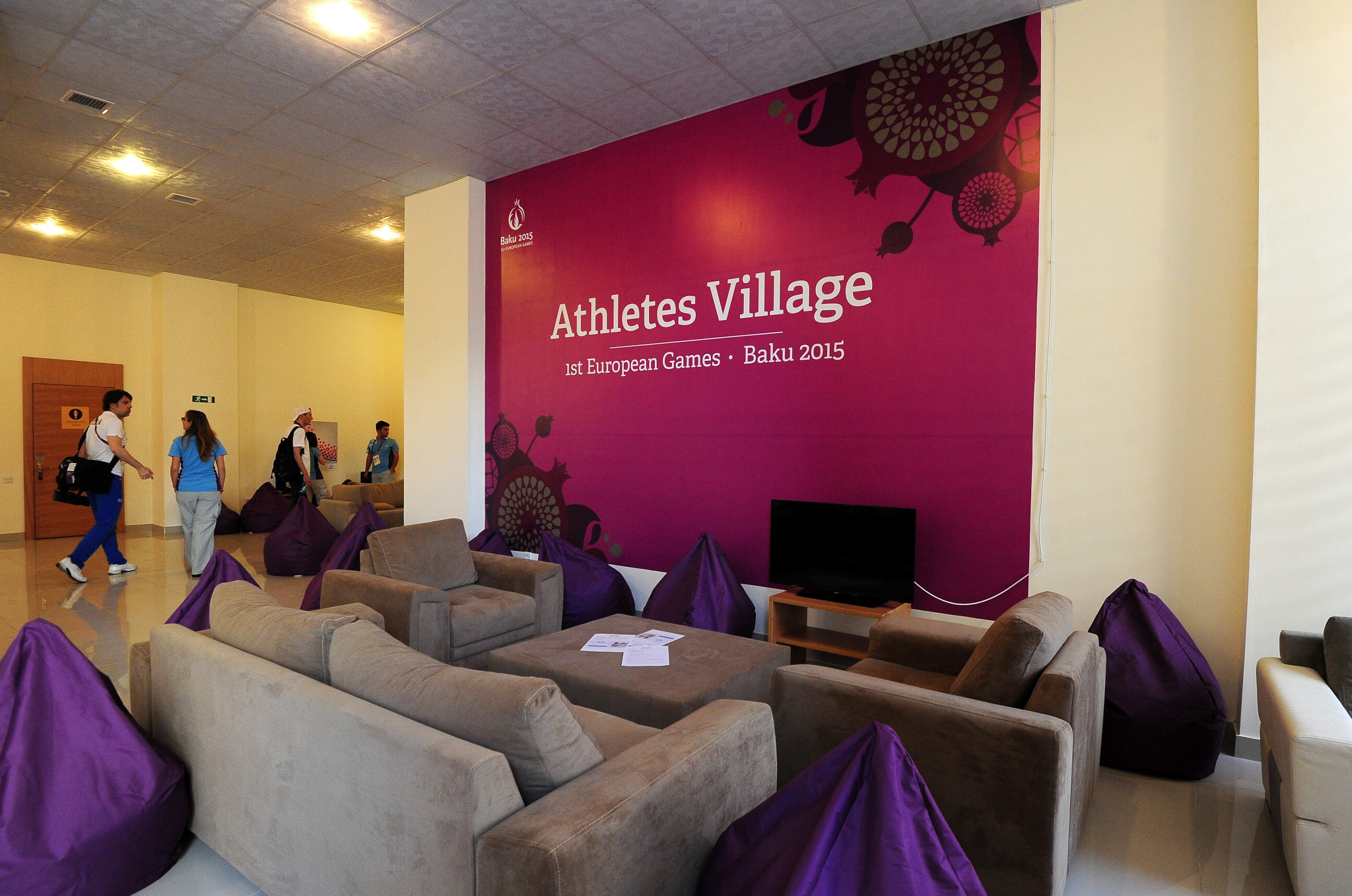 Mari Holloway was involved in catering arrangements for the Baku 2015 European Games ©Getty Images