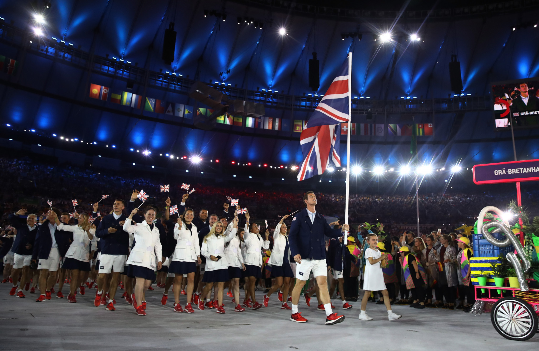 Great Britain won 27 gold medals at the Rio 2016 Olympic Games ©Getty Images