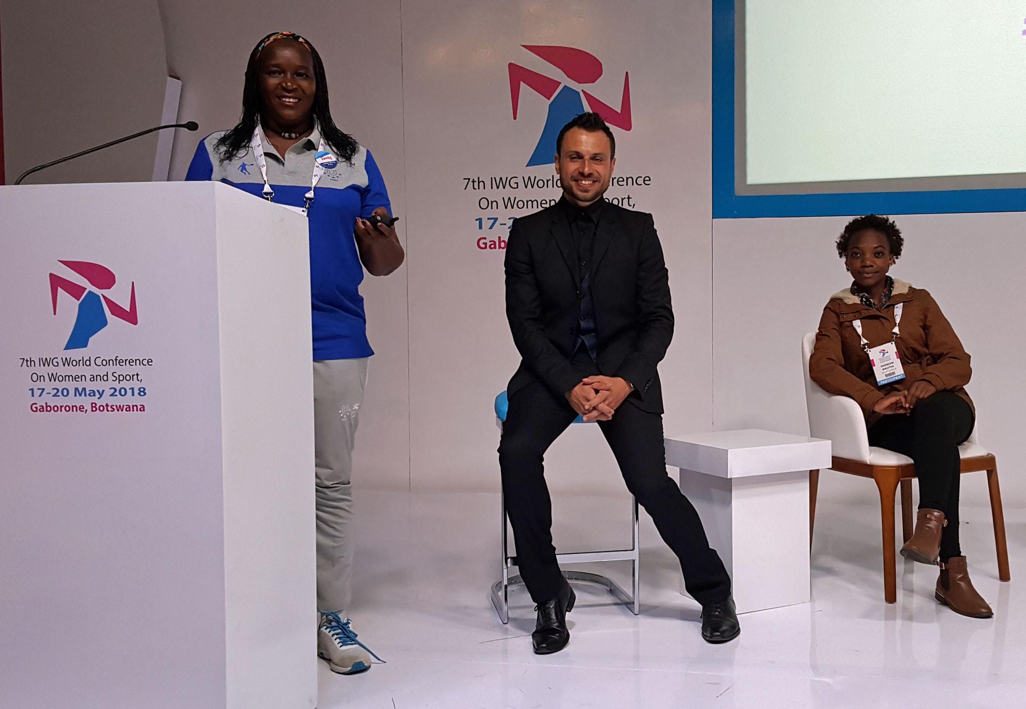 A global conference promoting women in sport was held last month in Botswana ©FISU