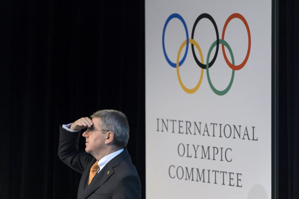 The International Olympic Committee, headed by President Thomas Bach, will confirm the 2024 Olympic candidates tomorrow ©Getty Images