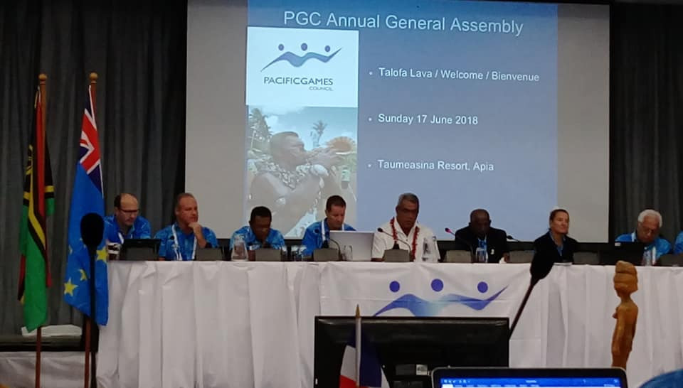 The PGC said progress had been made but that Tahiti's suspension will remain in place until the second condition is met ©PGC