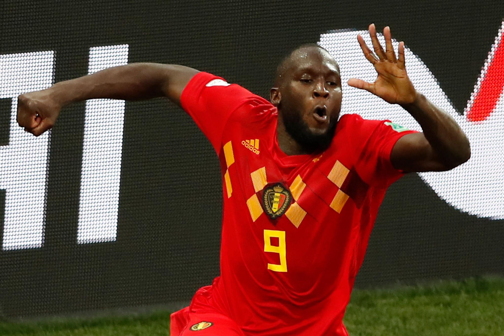 Romelu Lukaku found the net twice for Belgium ©Getty Images