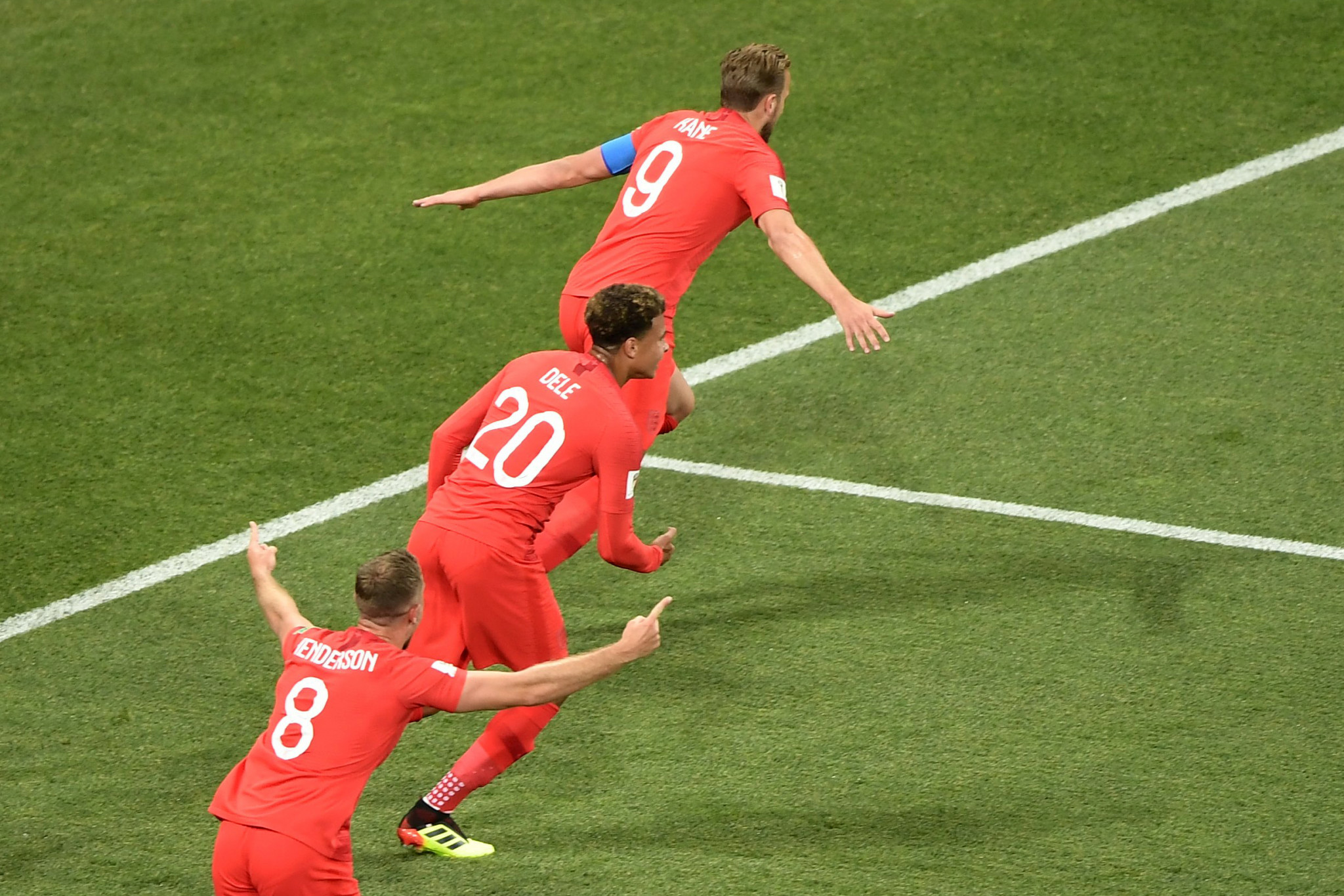 Harry Kane scored twice for England ©Getty Images
