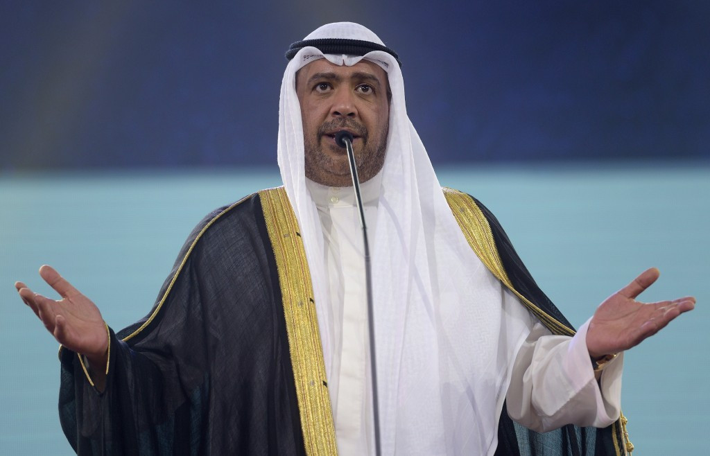 Sheikh Ahmad has been re-elected President of the OCA ©Getty Images