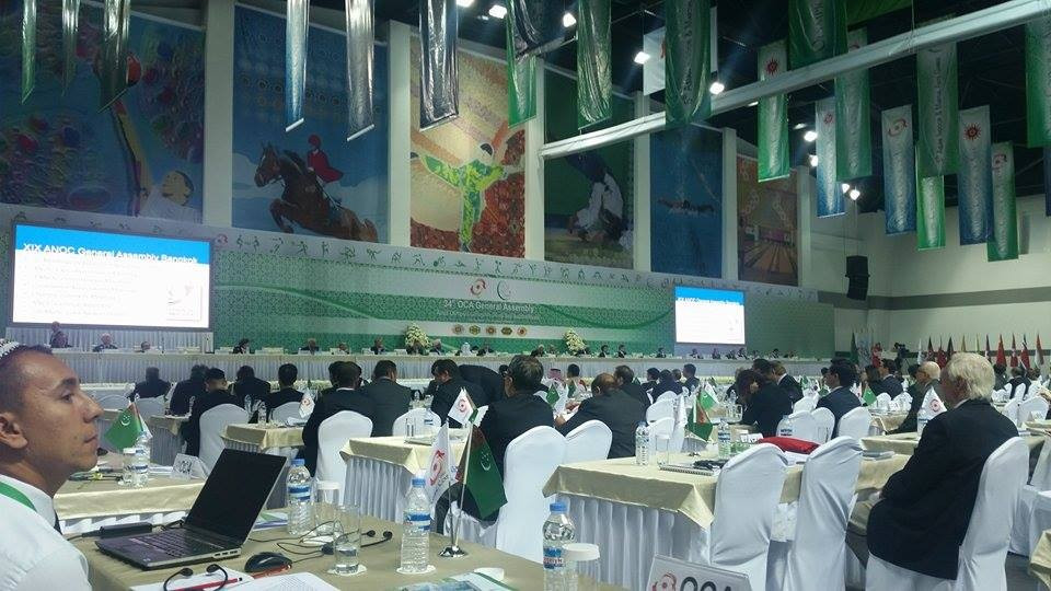 Sheikh Ahmad was re-elected at the end of today's OCA General Assembly ©OCA