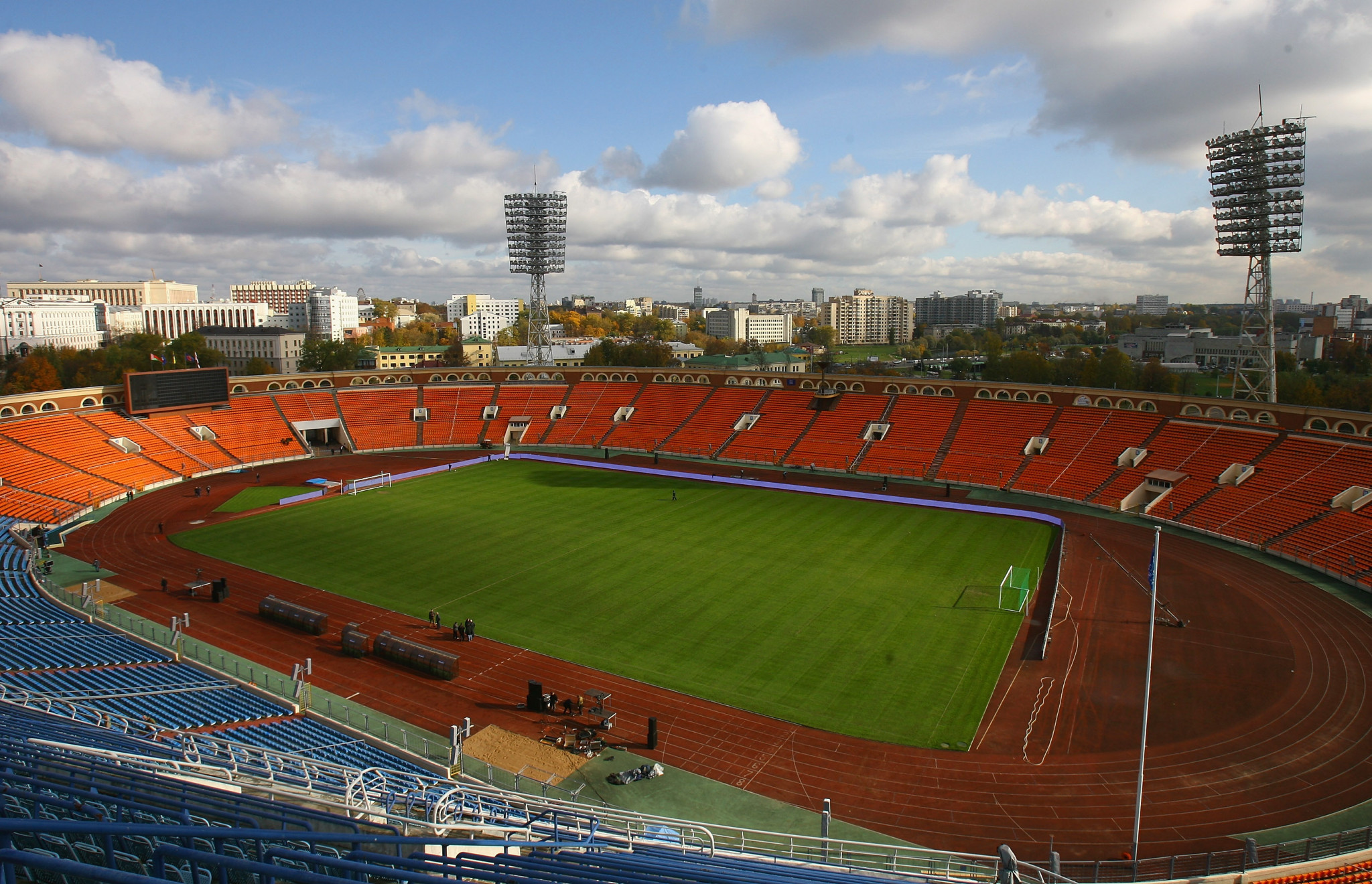 The Dinamo Stadium in Belarus has been re-developed ©Getty Images