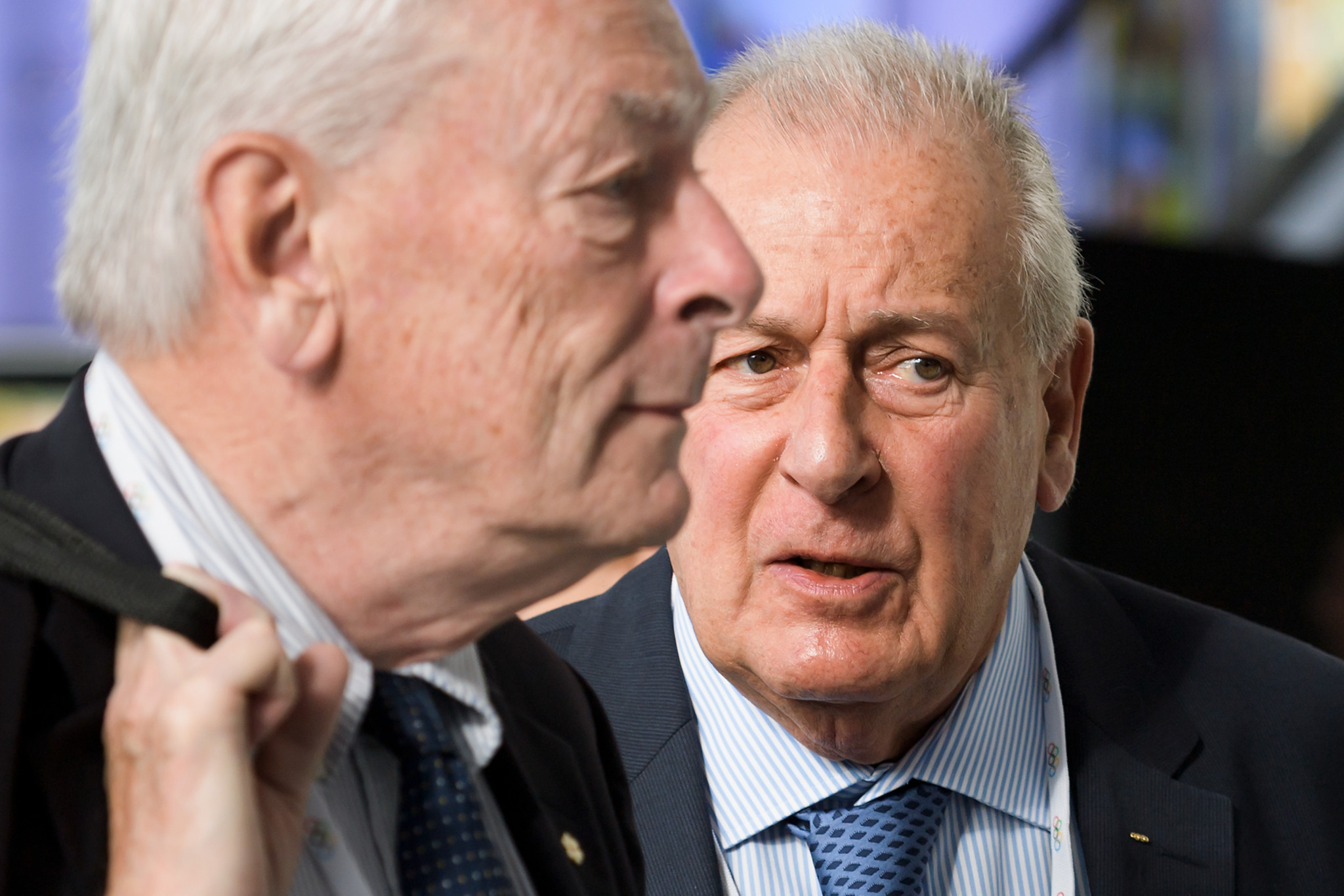 IOC member Dick Pound has claimed it was obvious why FIFA had not brought sanctions against Russian players ©Getty Images