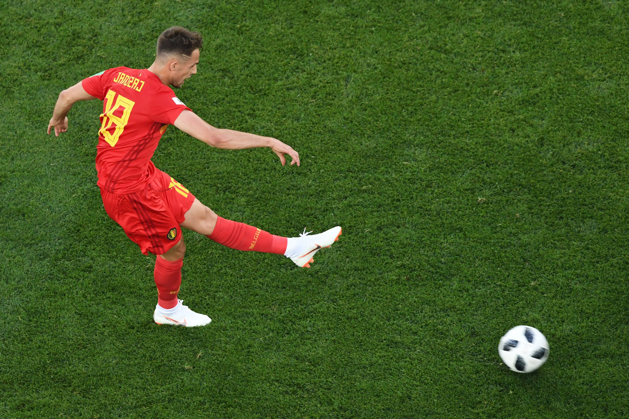 Adnan Januzaj's goal proved the difference between Belgium and England ©Getty Images