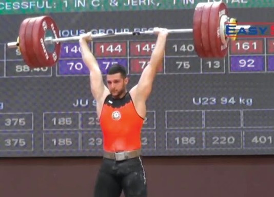 Huseyn  İsmayilov's positive drugs test at the European Junior Championships has left Azerbaijan facing a weightlifting ban from Tokyo 2020 ©YouTube