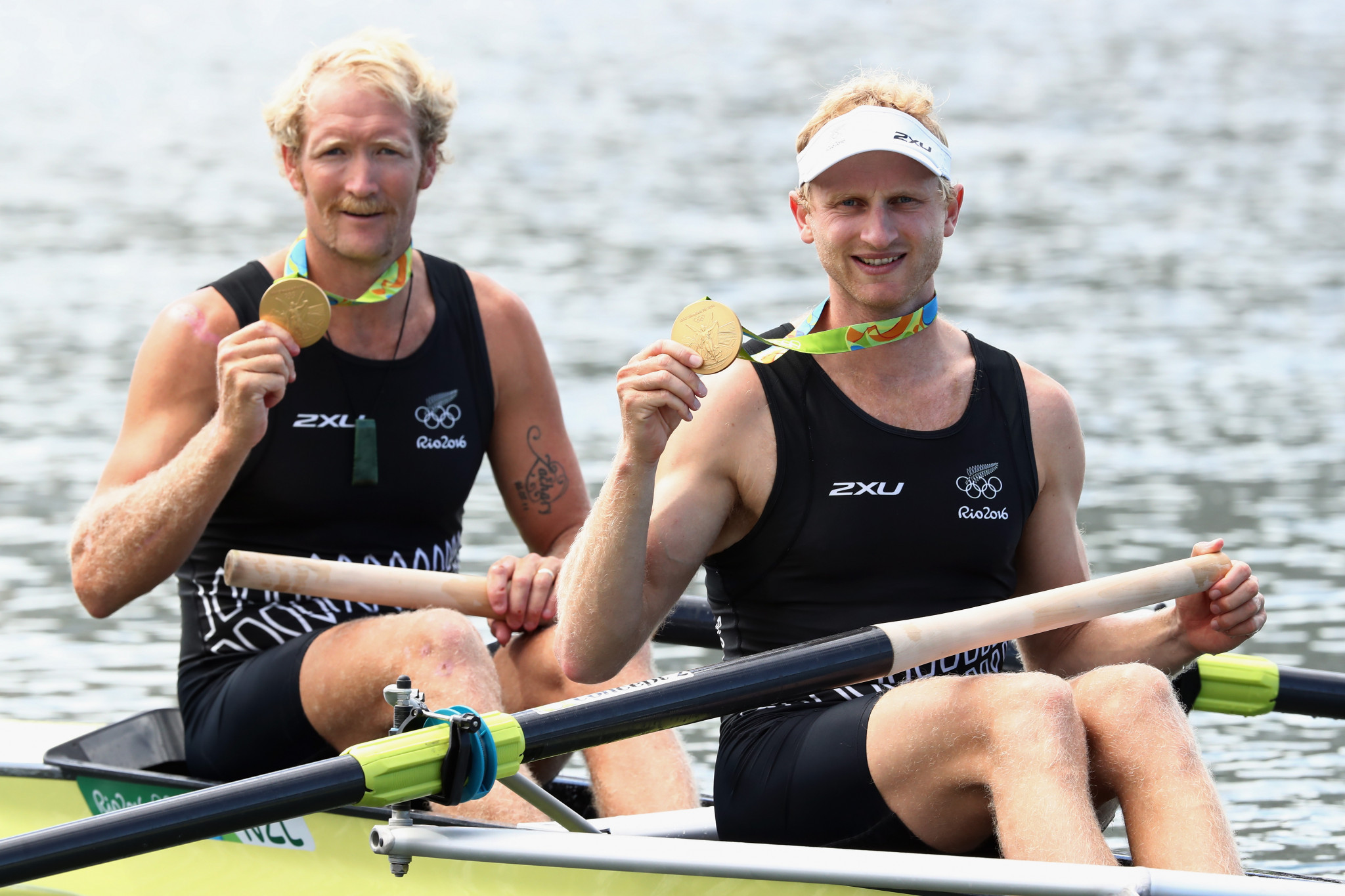 Murray and Bond win World Rowing's Thomas Keller Medal to mark outstanding careers