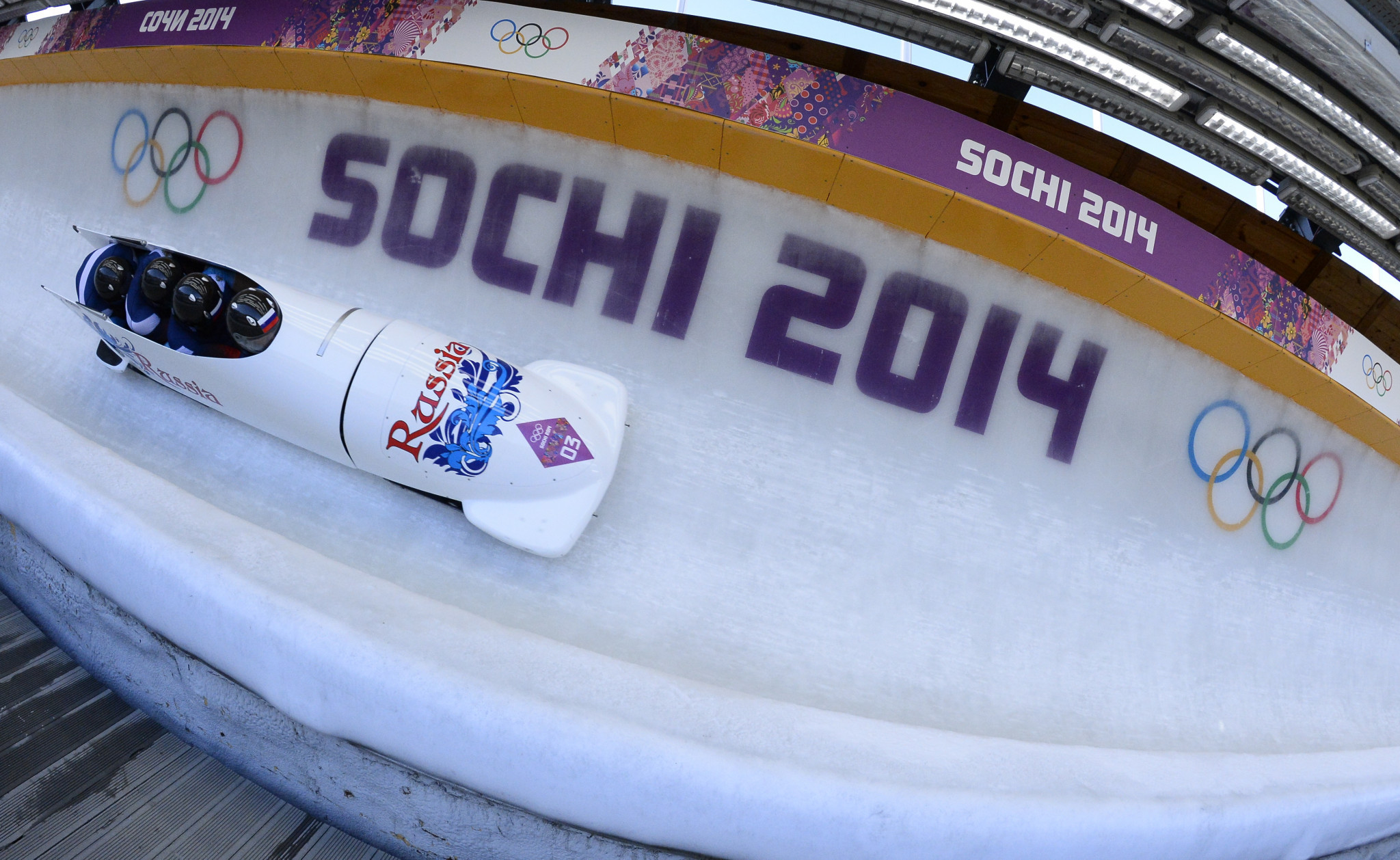Alexander Zubkov was stripped of the two gold medals he claimed at Sochi 2014 ©Getty Images